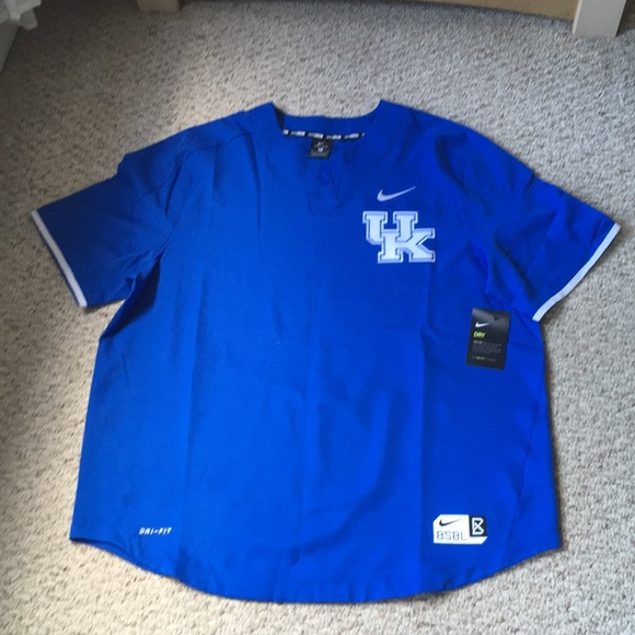 newest 23d5c 6cbde Nike Kentucky Wildcats baseball men's shirts